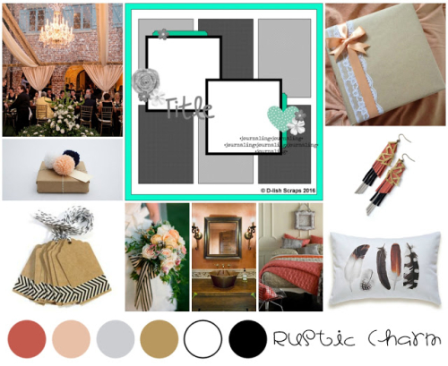 Rustic Charm Inspiration Board